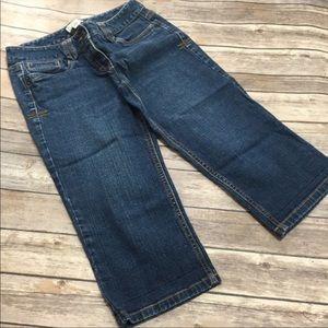 LOFT cropped Capri jeans